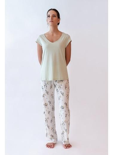 Hays Pijama Üst Yeşil